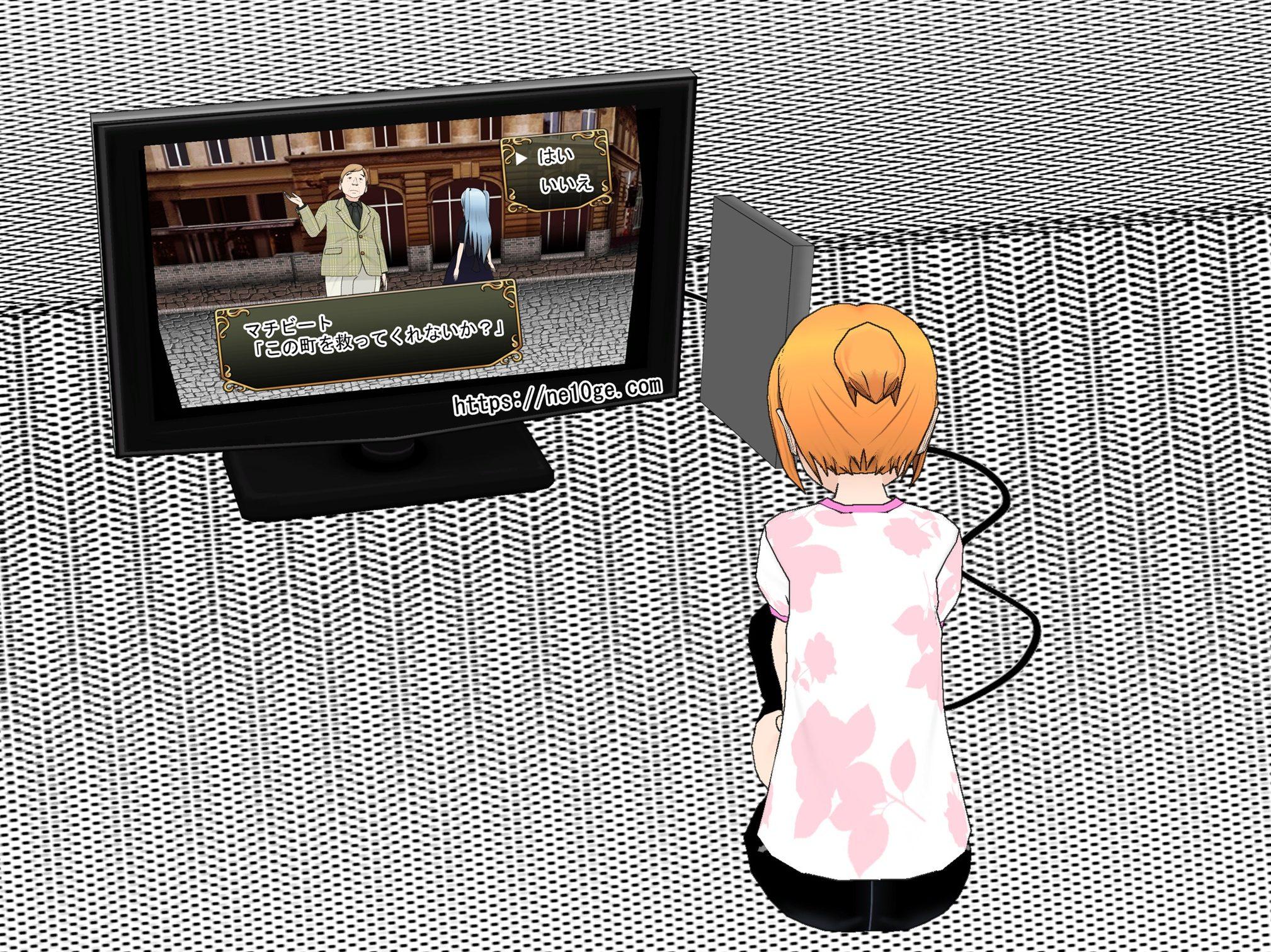最初はオフラインゲーム感覚でネトゲ、オンラインゲームを遊んでいた