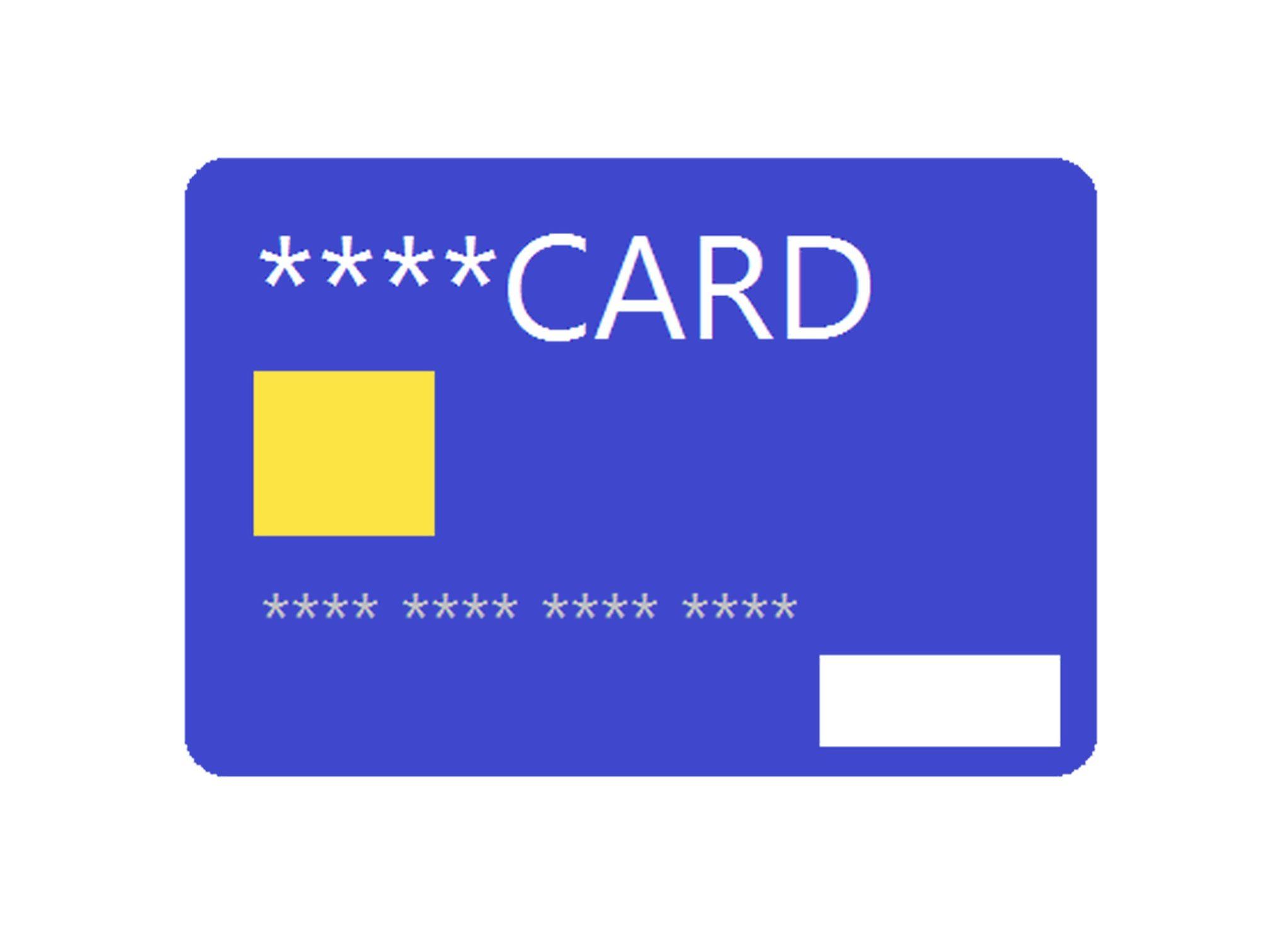 クレジットカードの絵